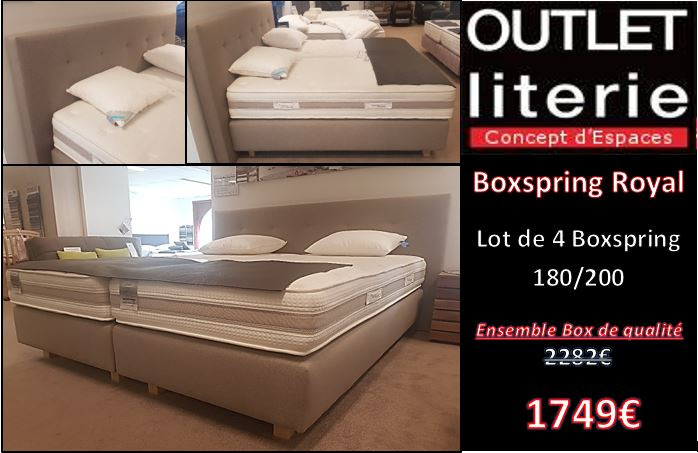 Ensemble Boxspring Royal