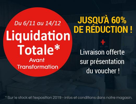 Liquidation Totale Avant Transformation !